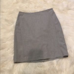 The Limited grey pencil skirt size 4